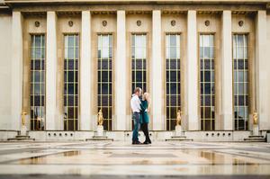 séance photo engagement couple paris