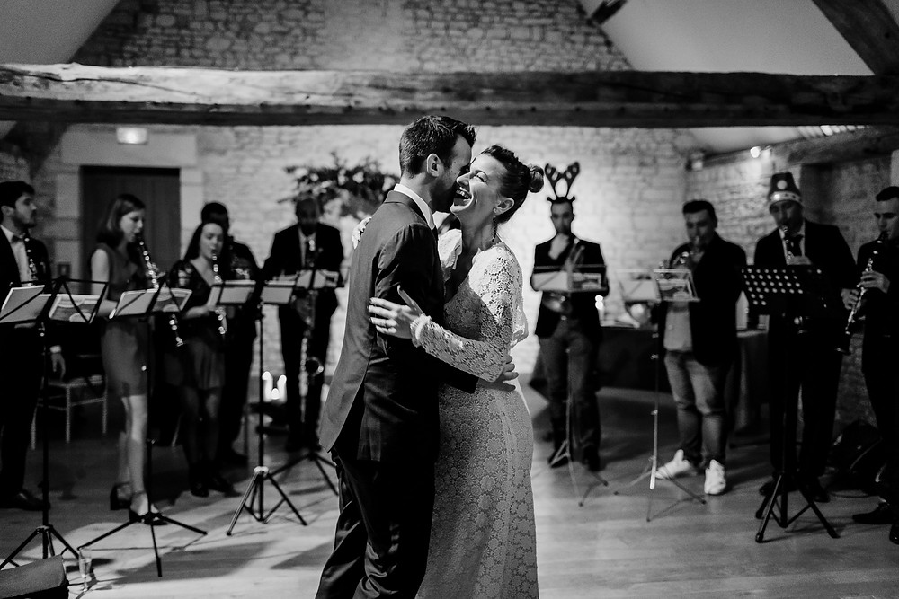 photo mariage hiver normandie orchestre cocktail photographe paris
