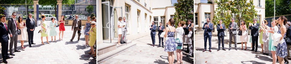 photo mariage cérémonie civile sèvres 92 sortie
