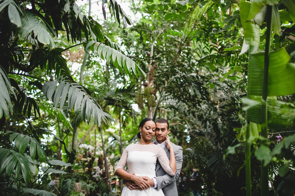 photo couple Paris serre jardin des plantes