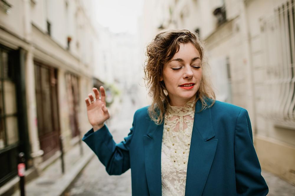 photographe portrait femme paris émotion