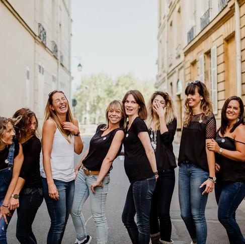 Séance photo EVJF Paris (Aurélie)