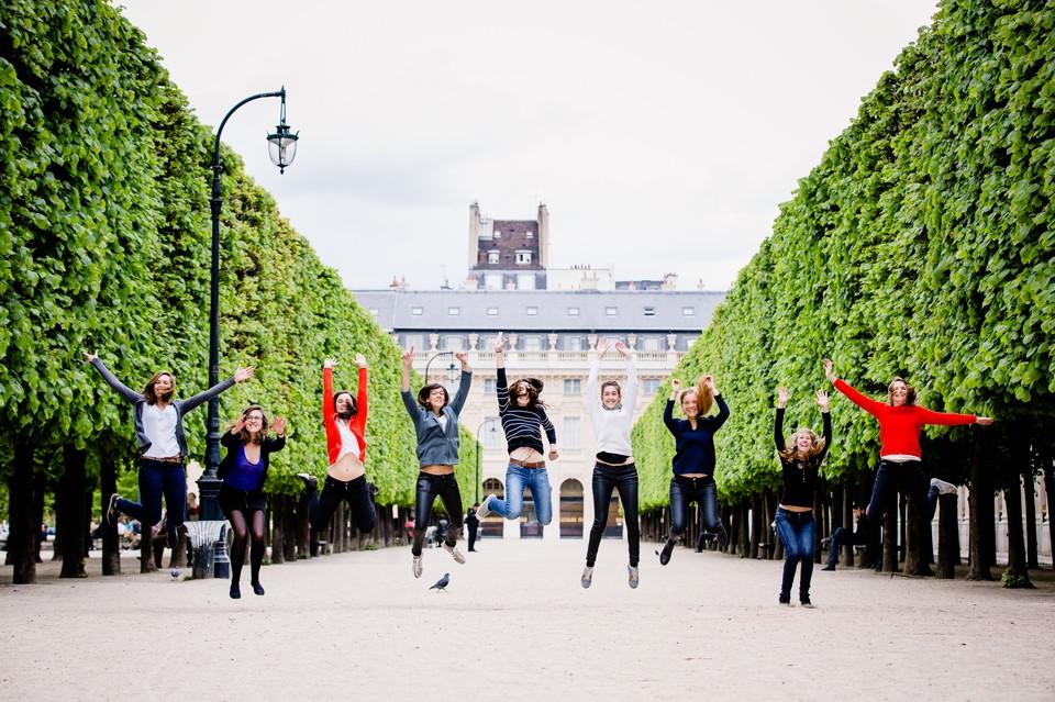 séance photo evjf paris palais royal