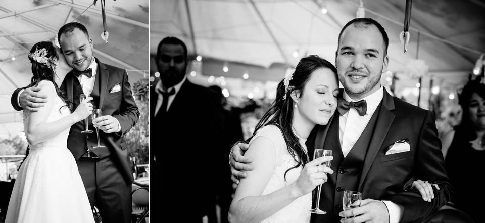photo couple mariage Villa 9 Trois Montreuil émotion
