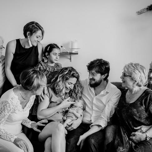 Séance photo grossesse & nouveau-né à Paris : Marcel & Joséphine