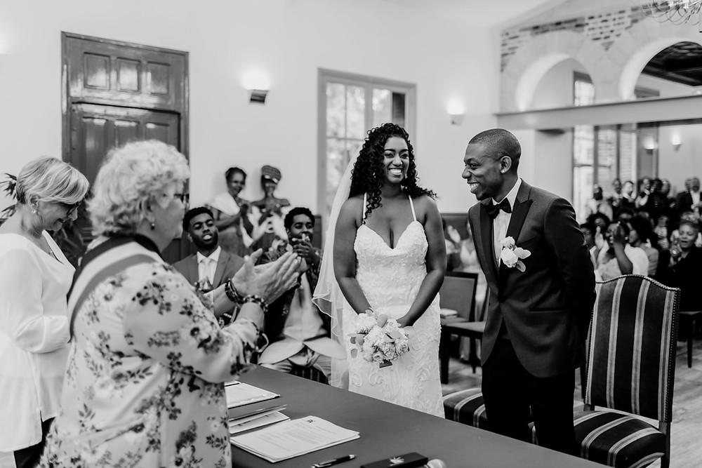 photographe mariage paris - cérémonie civile ils ont dit oui
