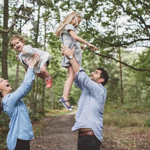 Séance photo grossesse au Parc de Sceaux et séance famille à domicile (Mes familles adorées - J&C)