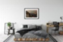 décoration chambre photo d'art encadrement