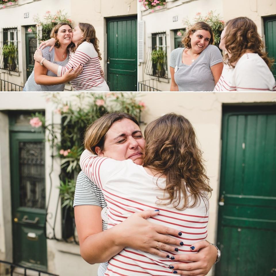 photographe EVJF Paris Montmartre photo émotions