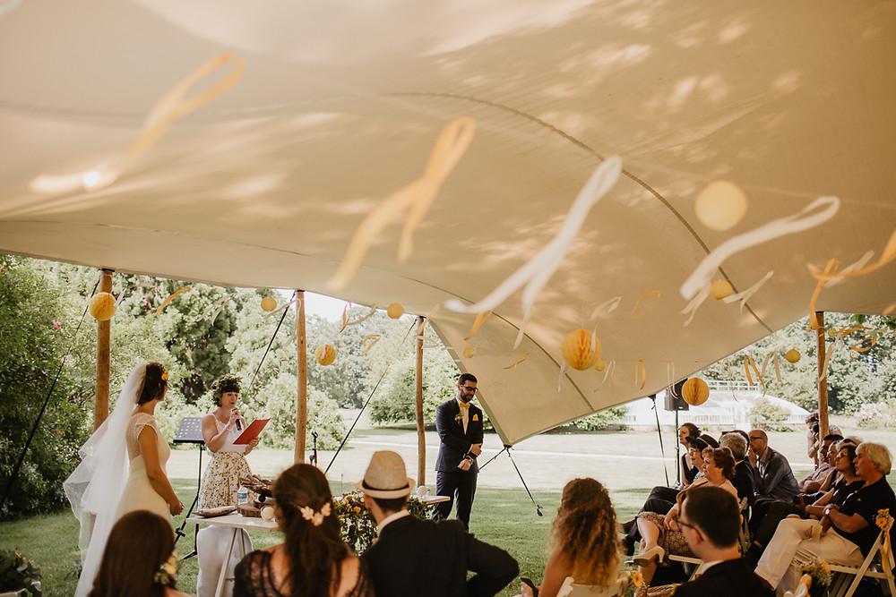 mariage cérémonie laïque château de courson photographe paris