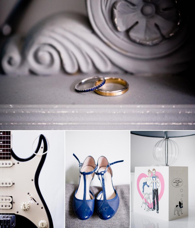 Photo mariage Montreuil détails accessoires