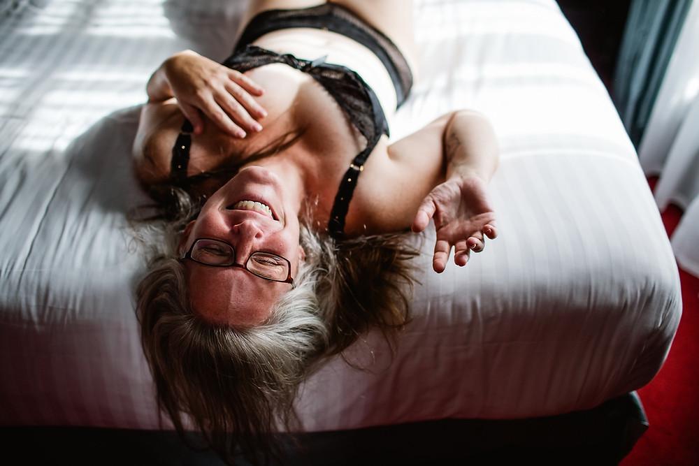 Photographe boudoir - Portrait intime femme Paris - Carole J. Photographie