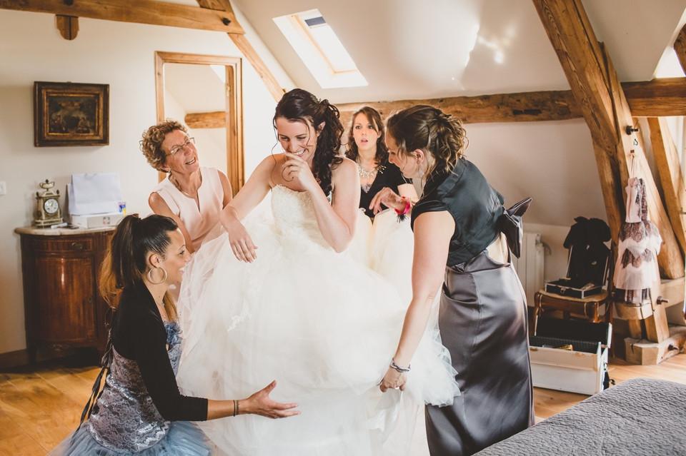 mariage domaine des evis perche préparation mariée