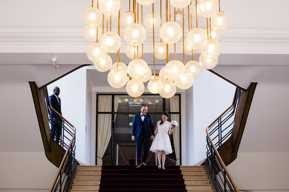 Photo mariage Montreuil sortie mairie