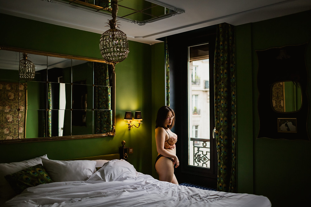 Séance photo boudoir Paris