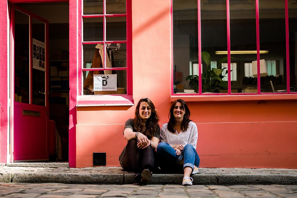 photographe paris autoportrait duo