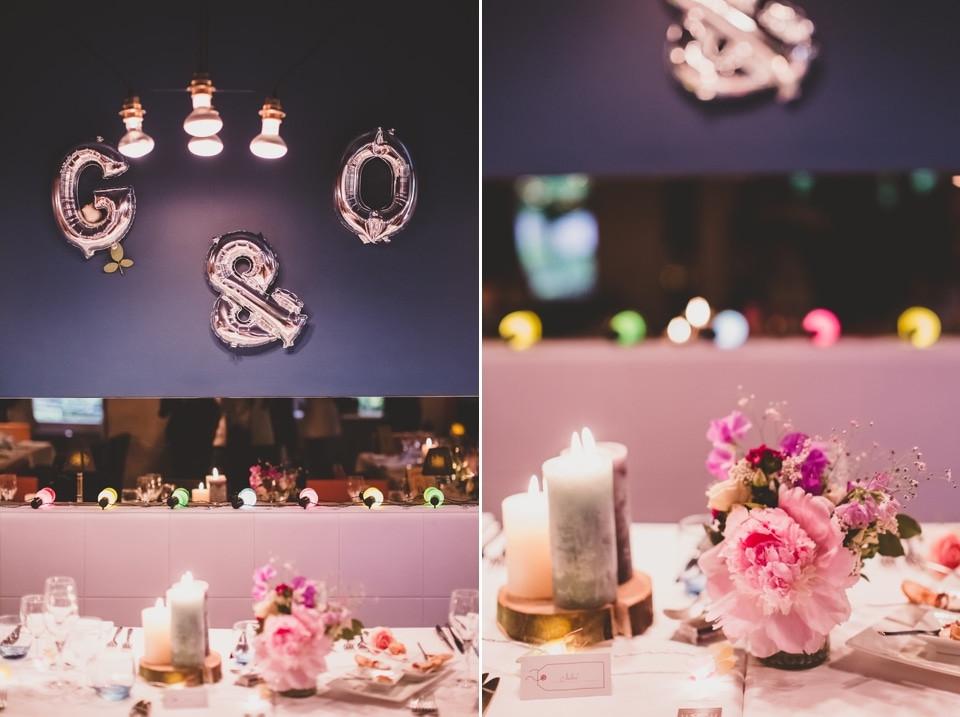 photo mariage intime Villa 9 Trois Montreuil décoration table