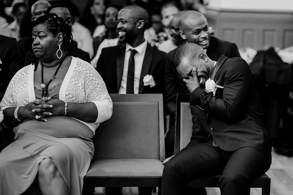 photographe mariage paris - cérémonie civile un invité rie