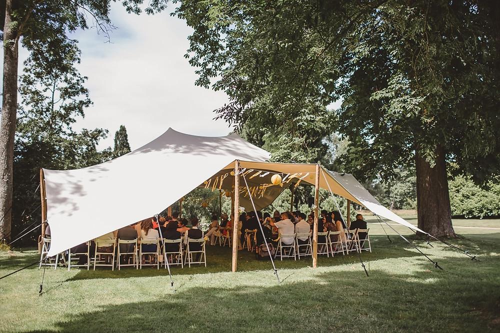 mariage cérémonie laïque au château de courson
