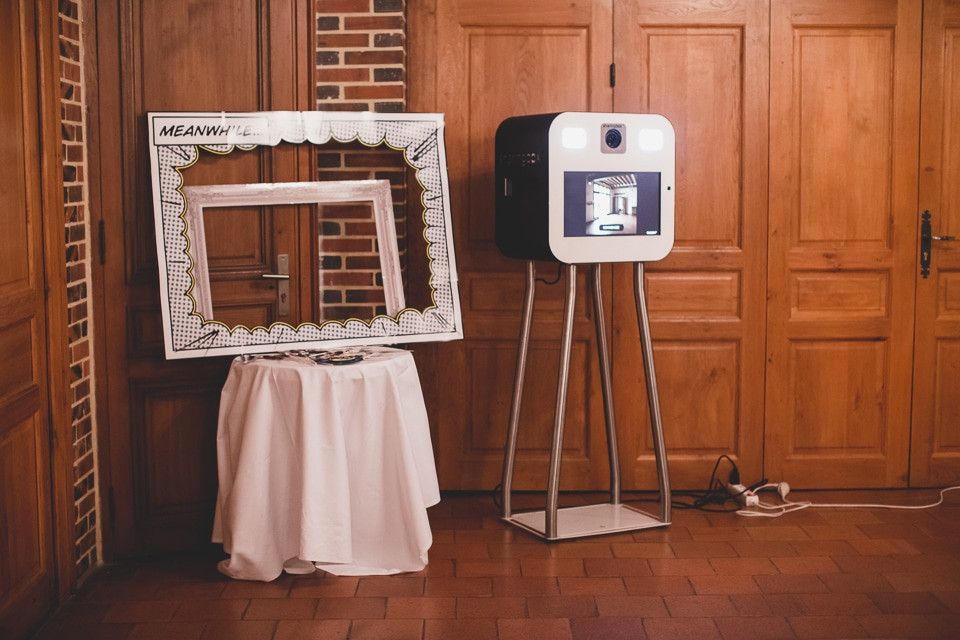 Photobooth mariage - Cabine photo Sharingbox - Carole J. Photographie
