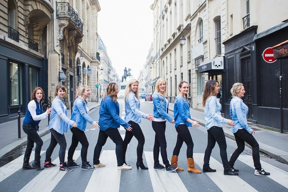 dress code séance photo EVJF Paris