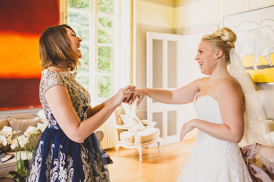 mariage Château de Changy préparation mariée