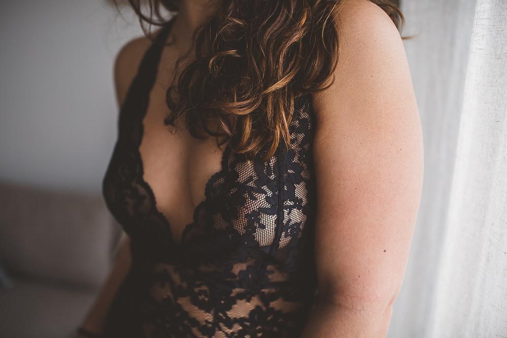 Apprendre à s'aimer - Portrait intime femme Paris - Photographe  Carole J. Photographie