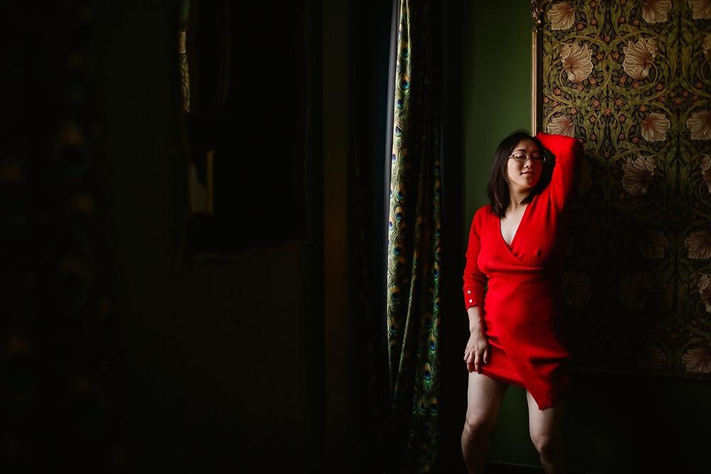 Oser - Libérer son corps - Acceptation de soi - Portrait intime femme Paris - Photographe  Carole J. Photographie