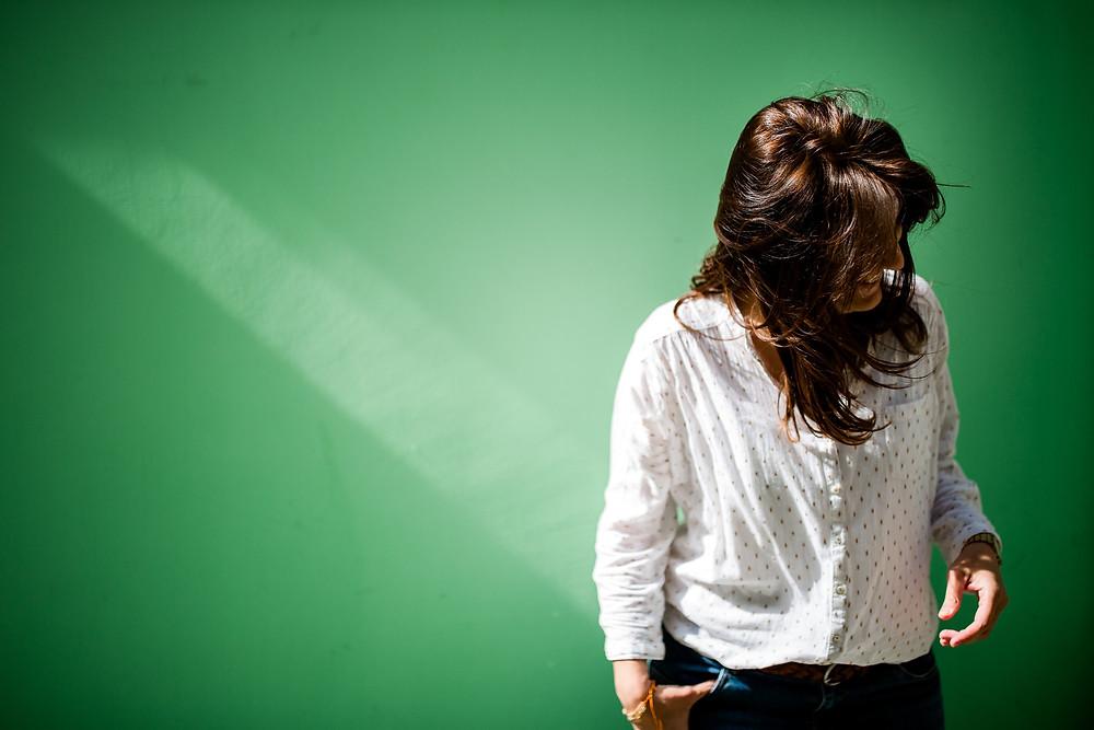 photo femme portrait paris ombre lumière