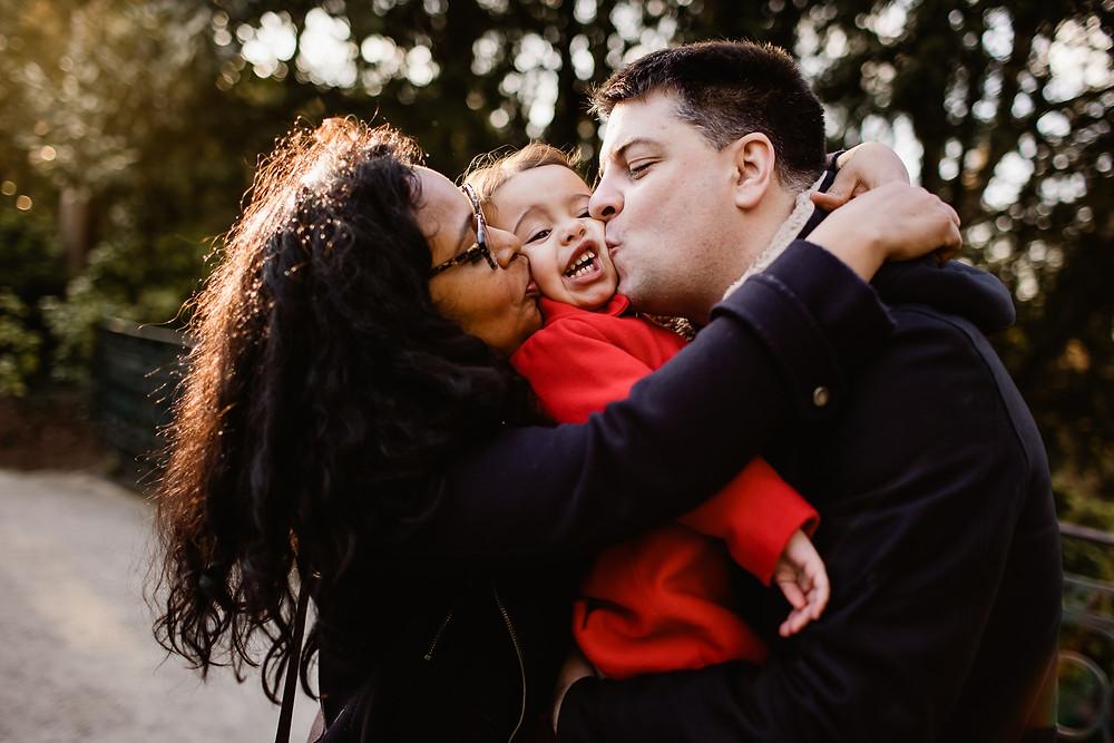 séance photo famille extérieur hiver photographe paris