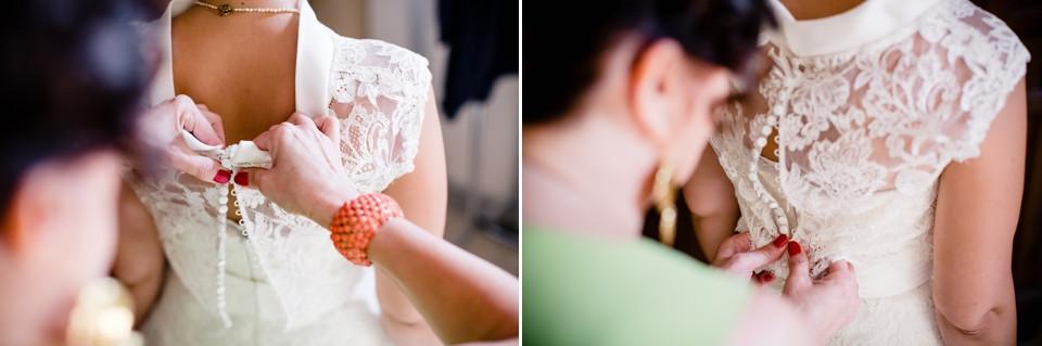 photographe mariage sèvres 92 détails robe mariée