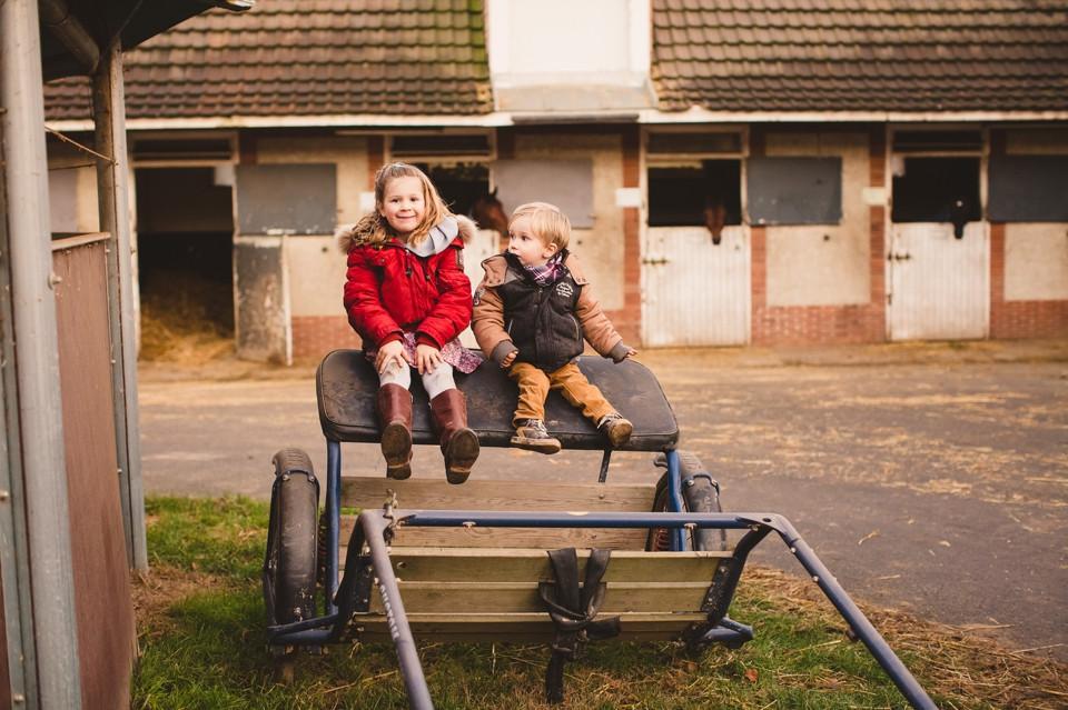 séance photo famille 94 Domaine de Grosbois centre équestre