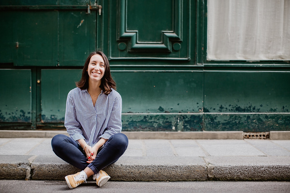 photographe portrait femme paris - séance en extérieur
