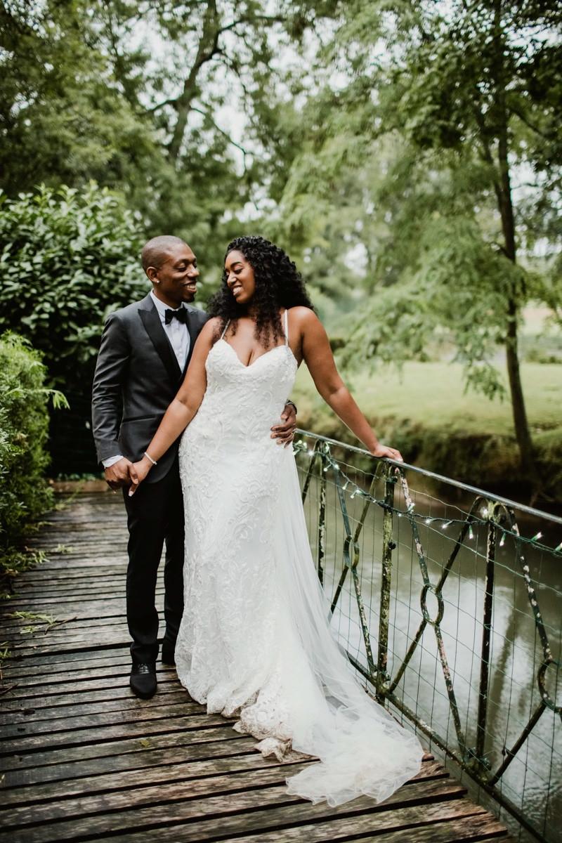 Photographe mariage Paris - portrait couple plein pieds