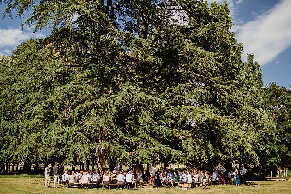 mariage cérémonie laïque Clos des Tourelles Château de la Tour