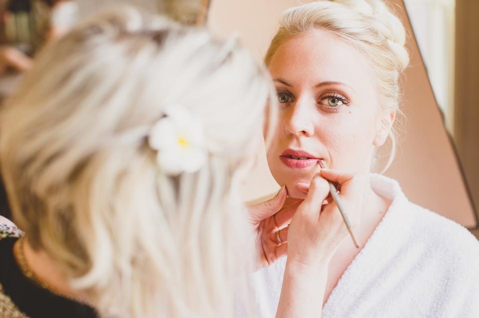mariage Château de Changy maquillage mariée