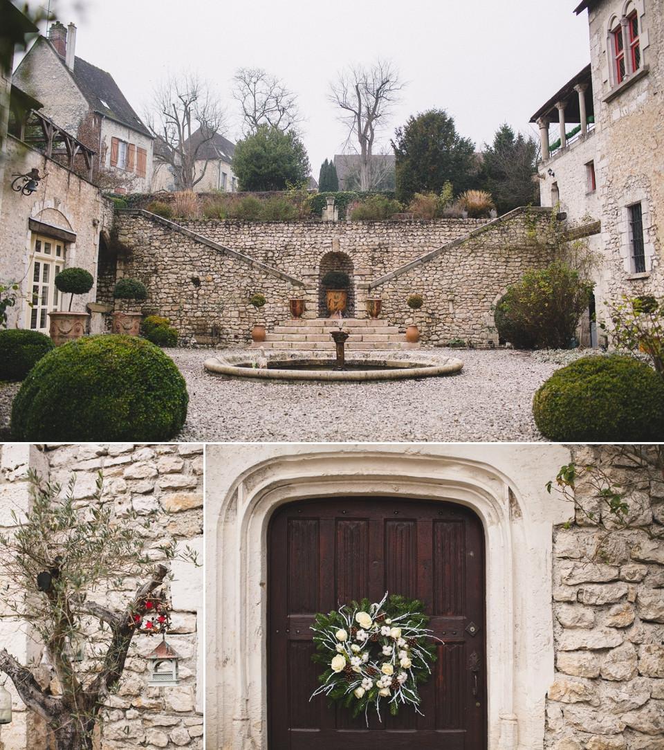 Mariage hiver Demeure des Vieux Bains Provins salle de réception