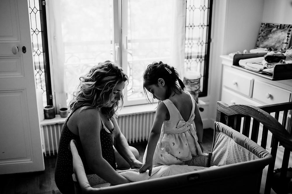 séance photo grossesse à domicile - Paris