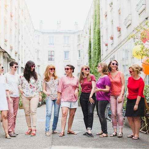 Une séance photo EVJF vitaminée à Paris