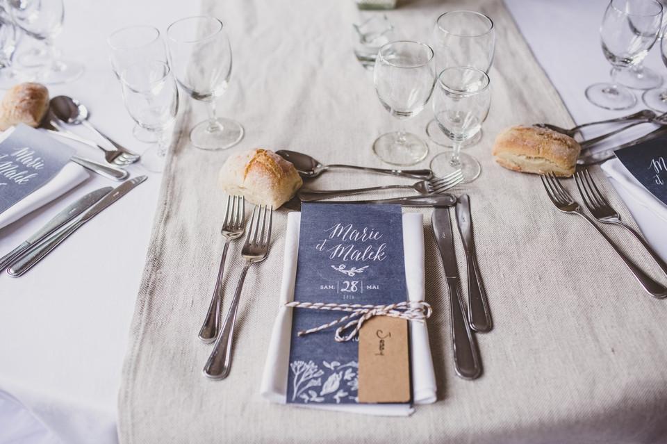 photo mariage Manoir des Roches décoration salle
