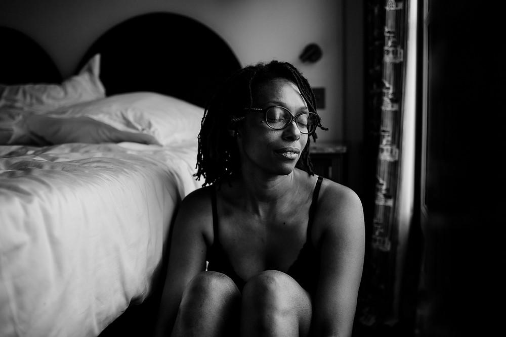 photographe femme paris portrait intime