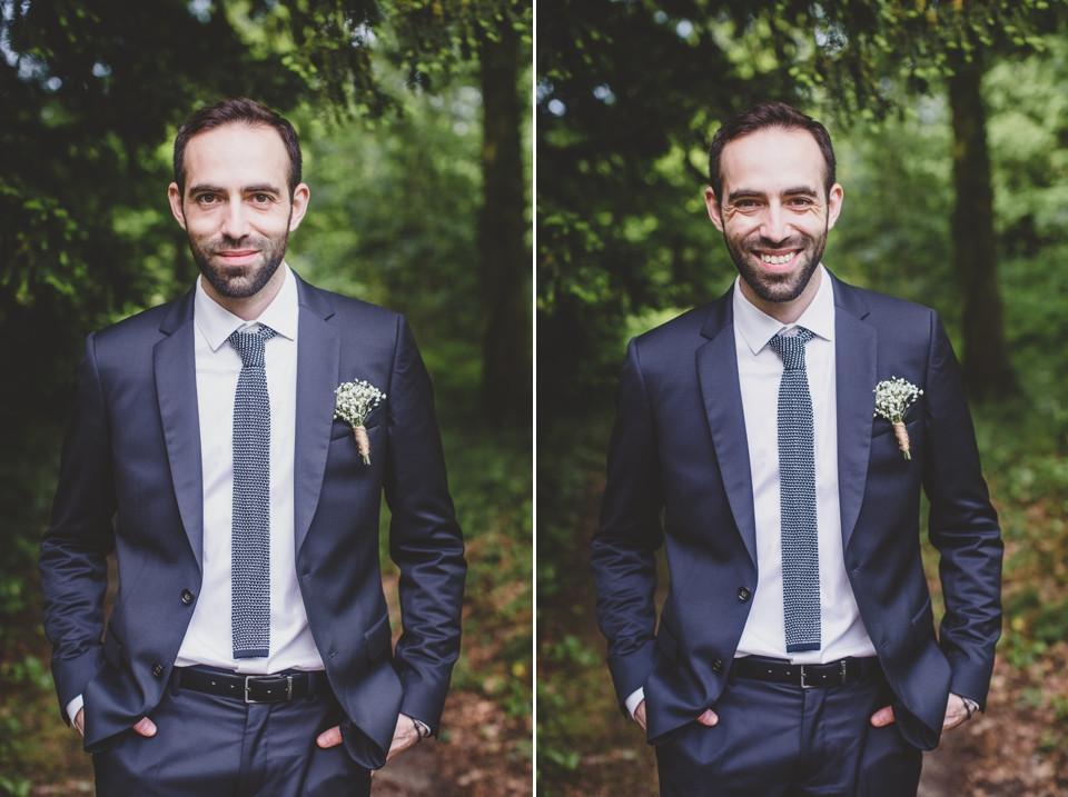 photo mariage Manoir des Roches 77 portrait marié