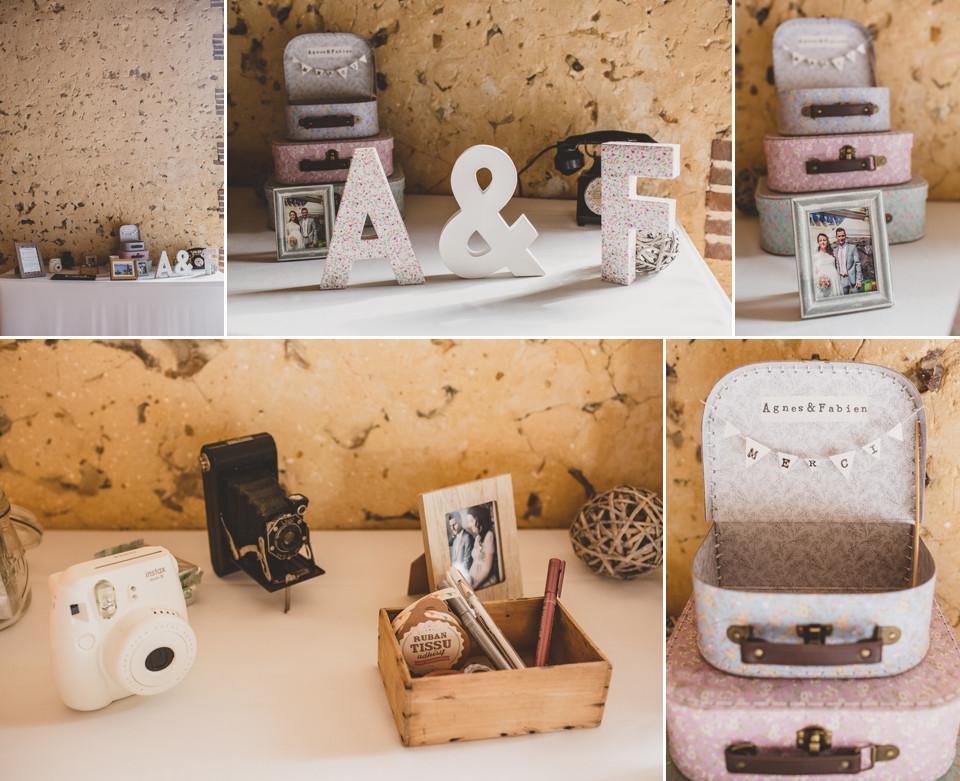 photographe mariage domaine des evis perche salle de réception décoration