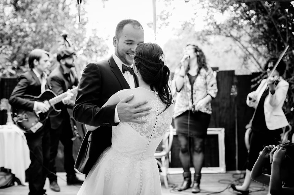 photo mariage Villa 9 Trois Montreuil mariés et orchestre
