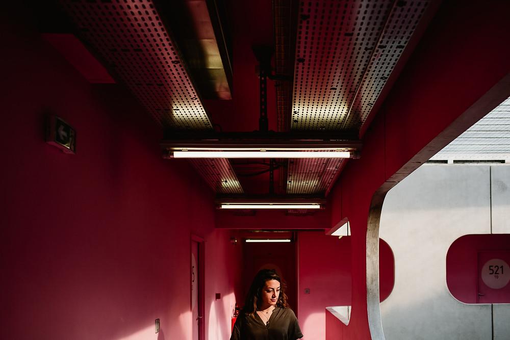 photographe portrait femme paris université pierre et marie currie