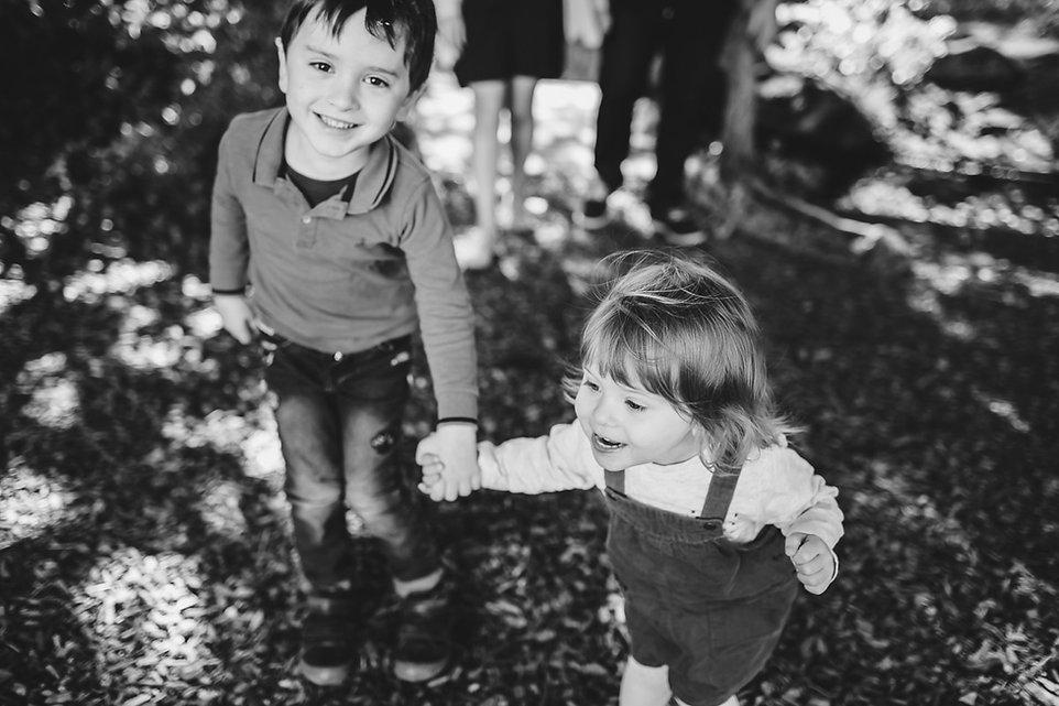 photo famille paris dans les bois