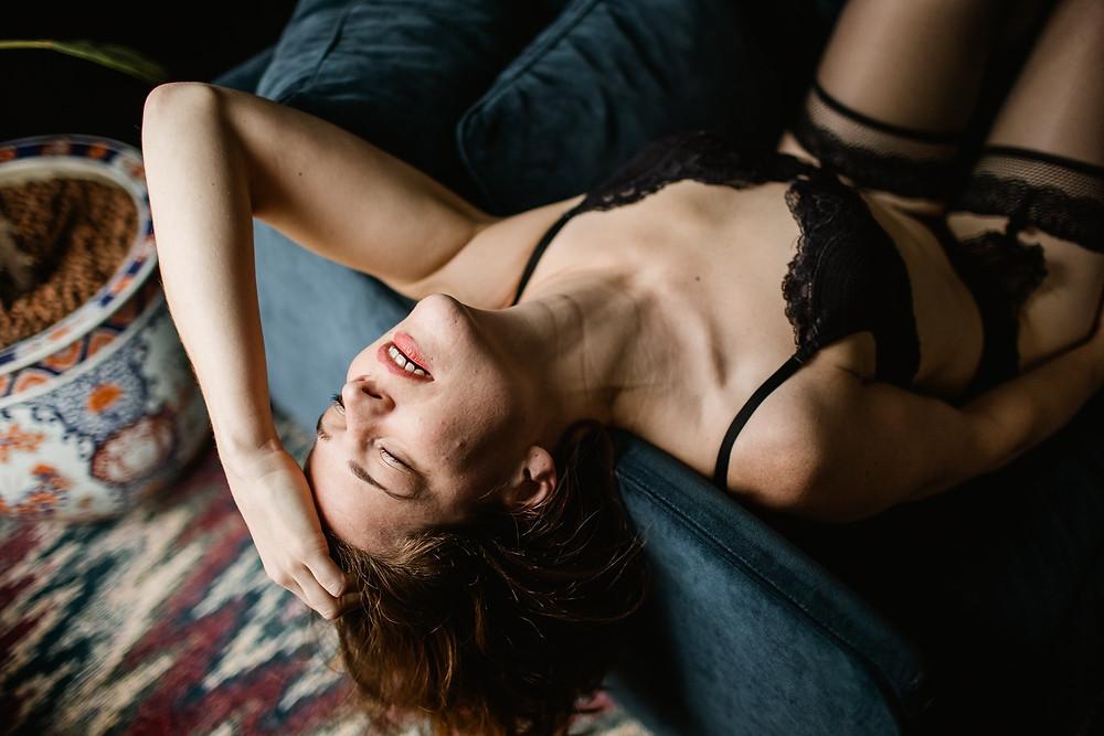 séance photo portrait intime femme paris - affirmation de soi