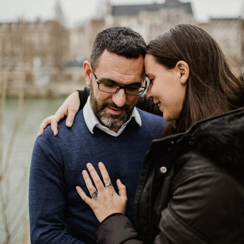 Séance couple à Paris pour tester le Canon EOS R