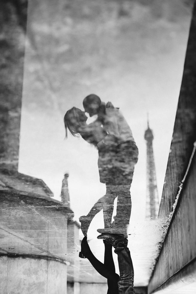 Séance photo couple engagement paris