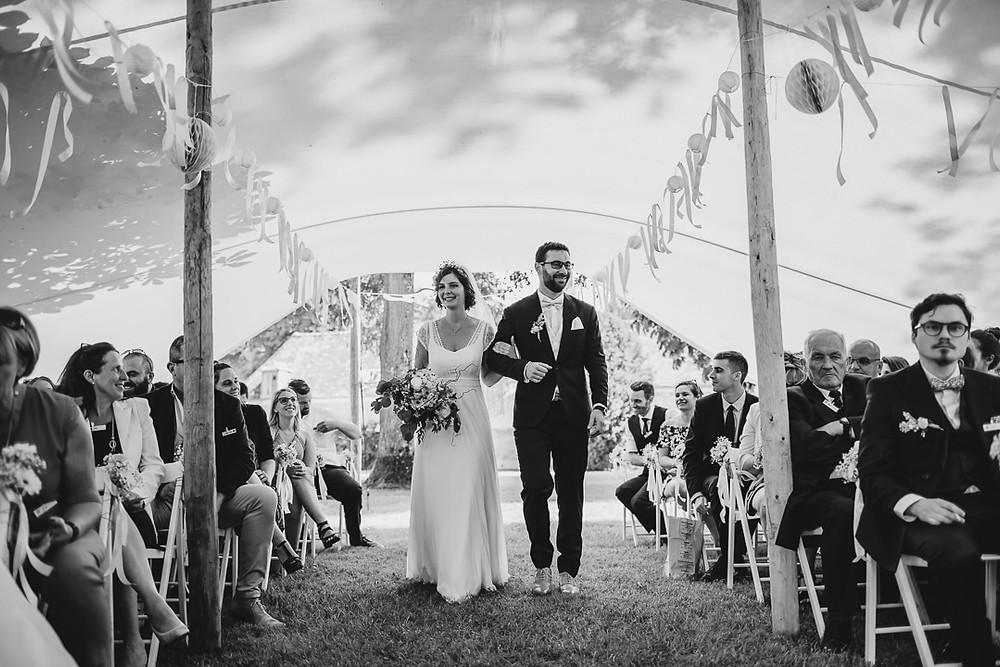 photographe mariage cérémonie laïque château de Courson